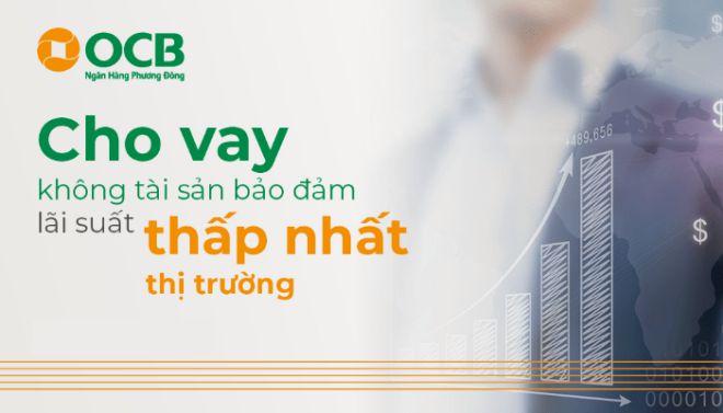 Vay tín chấp tại ngân hàng OCB