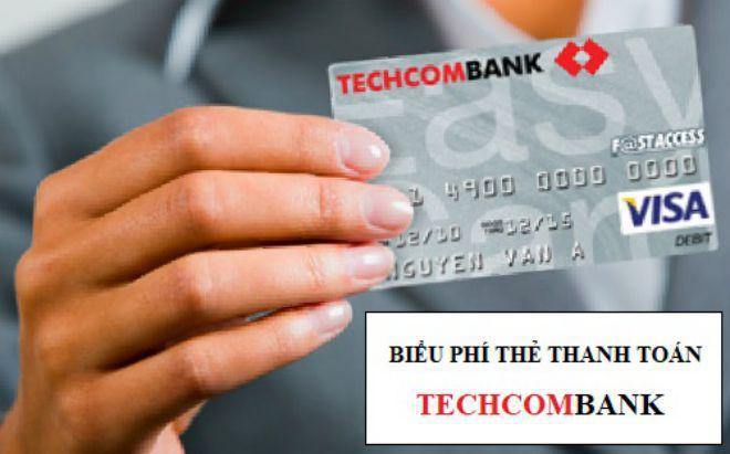 bieu phi techcombank