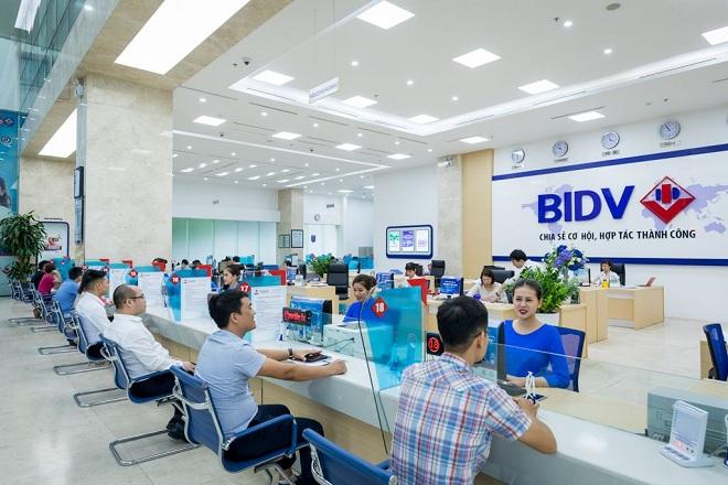 Giao dịch tại ngân hàng BIDV