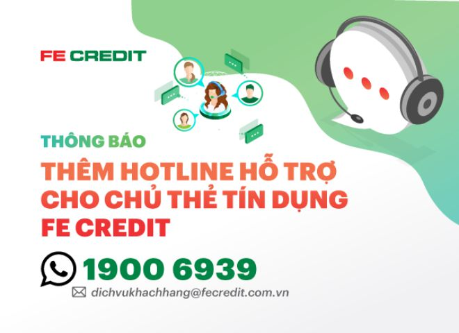hotline fe credit