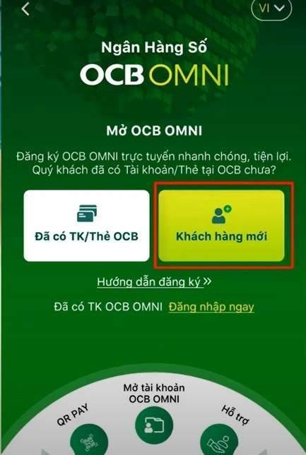 Mở OCB OMNI ngay