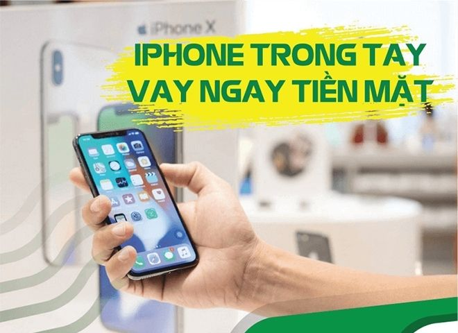 cach vay bang iphone