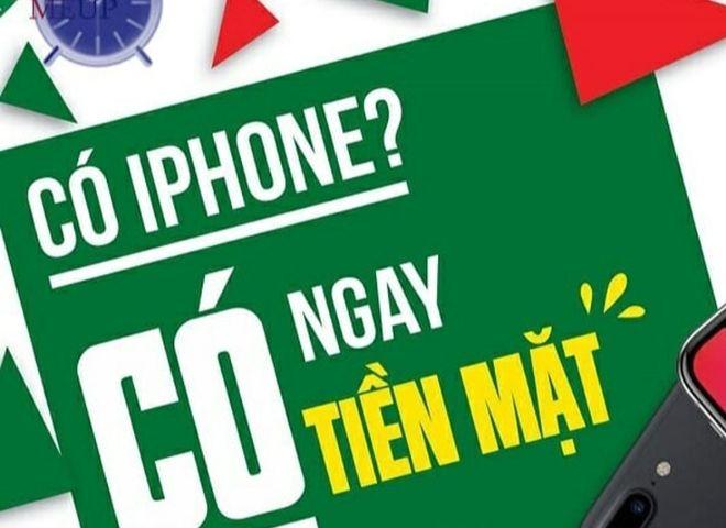 vay tien bang iphone