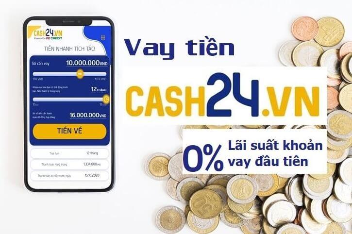 vay tien nhanh cash24
