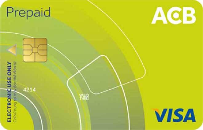 su dung the visa prepaid