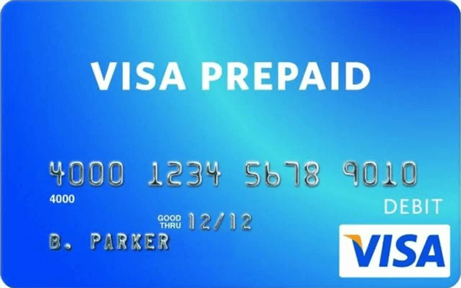 visa prepaid la the gi