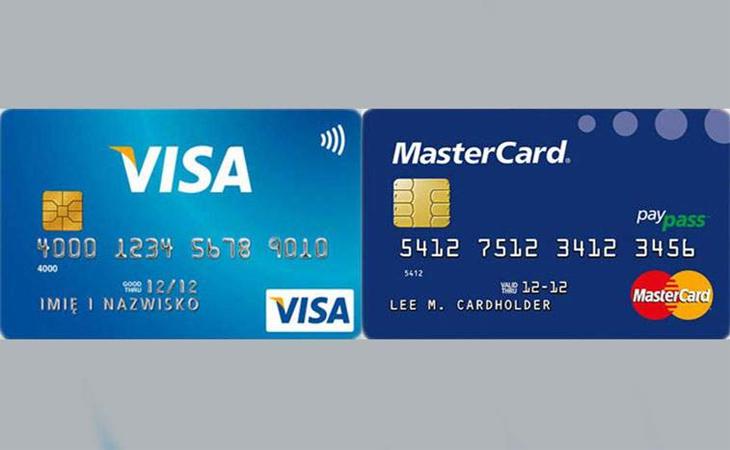 Phân biệt thẻ Mastercard và Thẻ Visa