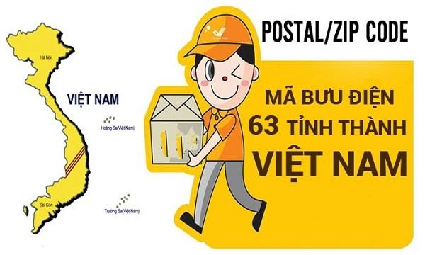 Mã bưu chính - Postal code